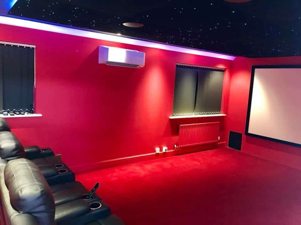 Home Cinema Air Conditioning