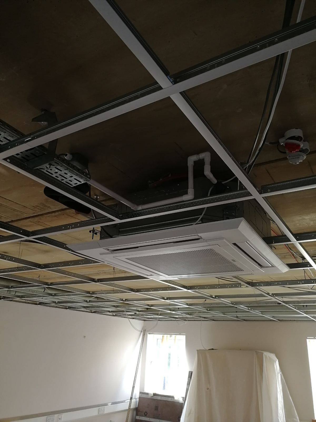 Process of Office Installation of Air Con Unit