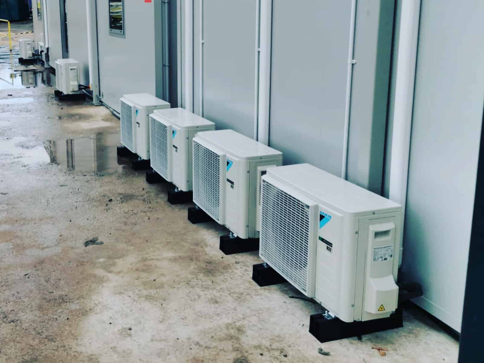 Portable Building Air Conditioning