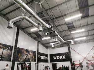 Gym air conditioning