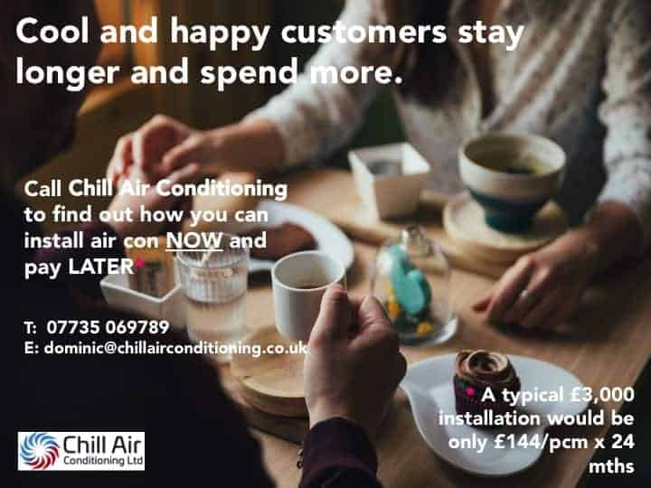 Coffee Shop Air Conditioning Derby