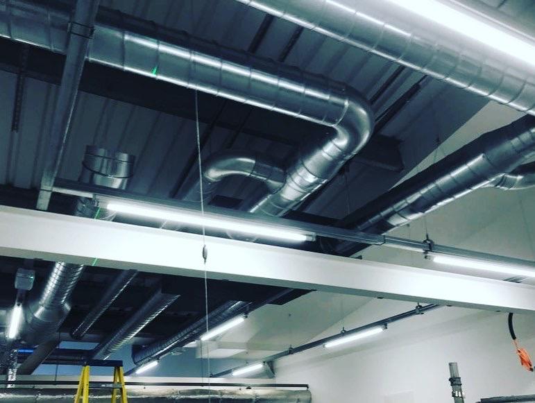 Commercial ventilation install