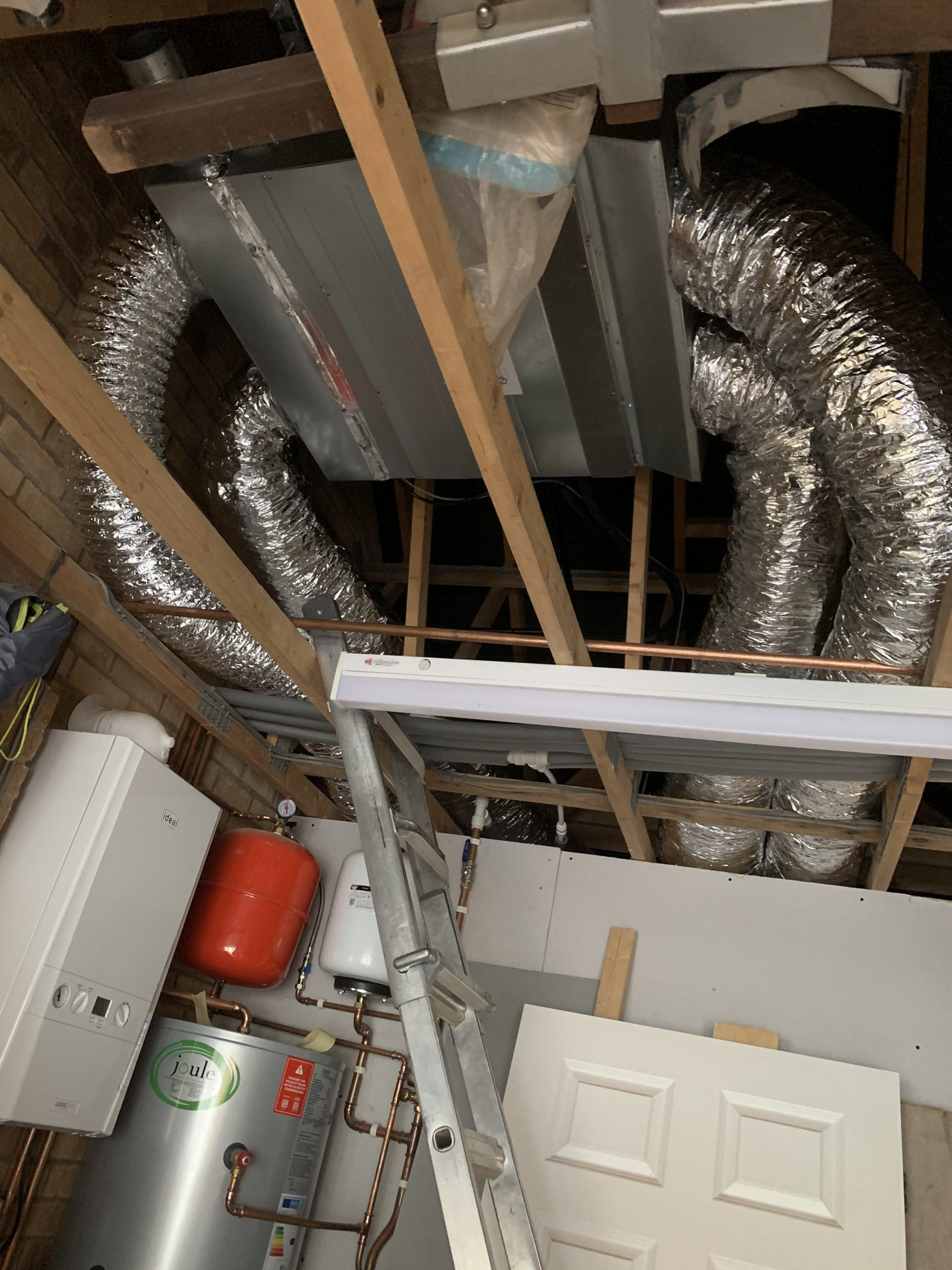 Ducted install