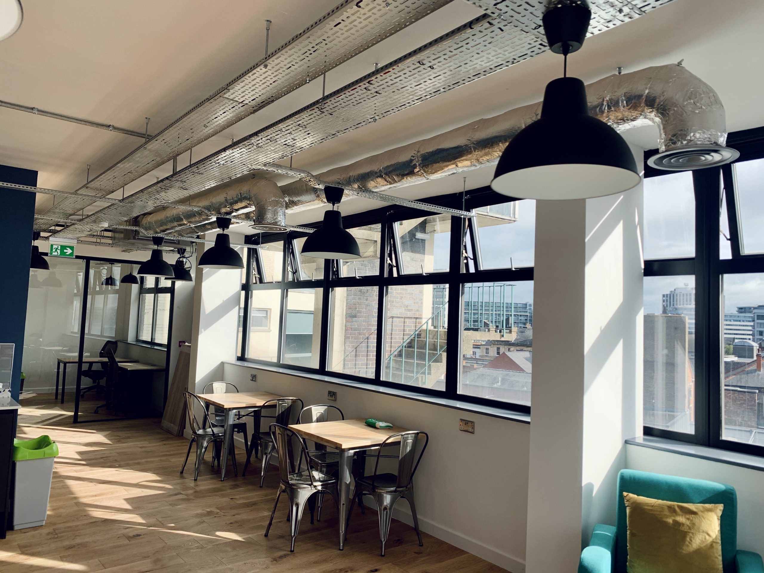 Ducted system installed in Nottingham offices